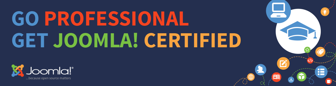 banner Joomla Certification Program